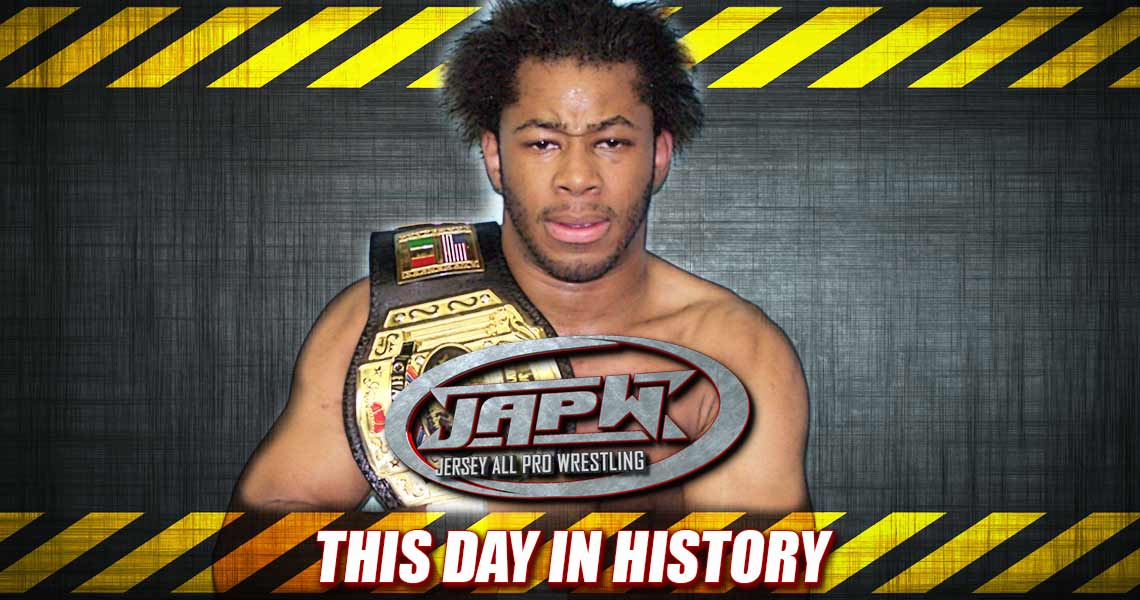 This Day In History: Jay Lethal Captures Gold, Lou Diamond & Glenn Strange defeat Homicide & Kane D in a Barbwire match!