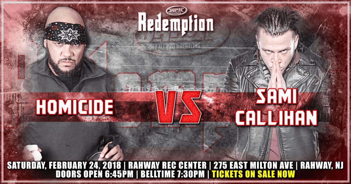 2/24 Homicide vs Sami Callihan